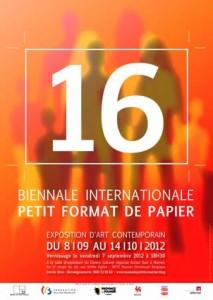 """La biennale """"Petit Format de Papier"""