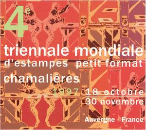 Quatrième triennale mondiale d'estampes petit format, 1997. AMAC (c).