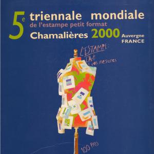 Cinquième triennale mondiale d'estampes petit format, 2000. AMAC (c).