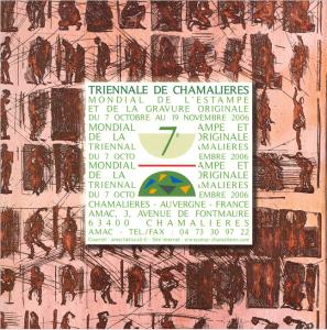 Septième triennale mondiale de l'estampe et de la gravure originale, 2006. AMAC (c).