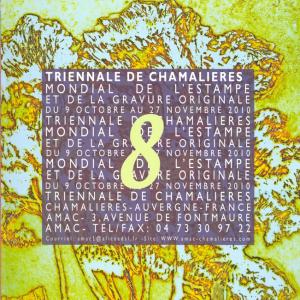 Huitième triennale mondiale de l'estampe et de la gravure originale, 2009. AMAC (c).