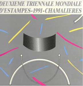 Deuxième triennale mondiale d'estampes petit format, 1991. AMAC (c).